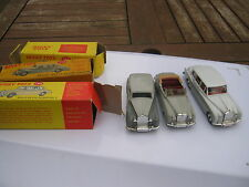 DINKY 194 198 150 ALL ORIGINALS LIGHTLY PLAYWORN VERY GOOD IN ORIGINAL BOXES.