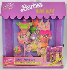 BARBIE BEACH BLAST BARBIE FASHION MALL FASHION MALL PLAYCASE #2 NRFB