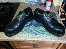 DR MARTENS INDUSTRIAL STEEL TOE SAFETY SHOE SIZE 7 SOME MARKS AND DIGS