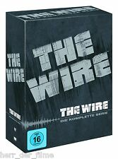 THE WIRE, Die komplette Serie (Staffel 1-5) 24 DVDs NEU+OVP
