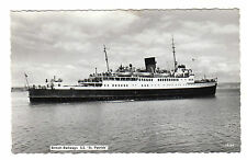 British Railways - St Patrick Real Photo Postcard c1955 / Ferry