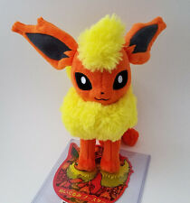 "Japanese Pokemon Center 8"" Flareon plush doll 2012 standing"