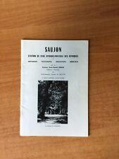 SAUJON STATION DE CURE HYDROCLIMATIQUE DES NEVROSES historique traiteme