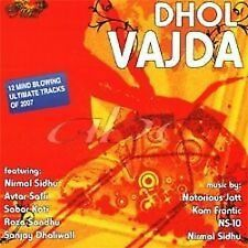 DHOL VAJDA  - BRAND NEW BHANGRA CD - FREE UK POST