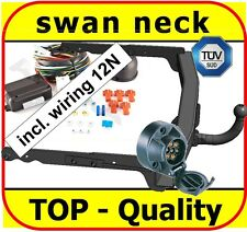 Towbar & Electrics 7pin 12N Ford Mondeo 4 IV Estate Saloon 2007 - ON / swan neck