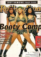 DESTINY'S CHILD BEYONCE KNOWLES SEXY ROLLING STONE 2001 DALAI LAMA