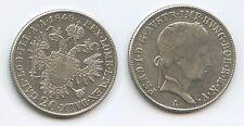 G13585 - Österreich 20 Kreuzer 1848 A Wien KM#2208 Ferdinand I.1835-1848 Silber