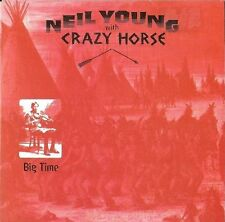 NEIL YOUNG WITH CRAZY HORSE BIG TIME RARE AUSTRALIAN CD SINGLE IN CARD SLEEVE!