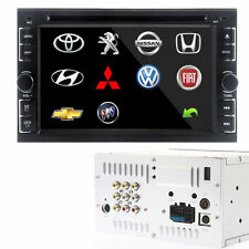 "voiture Autoradios 6,2"" Double 2 DIN lecteur DVD SD USB Bluetooth ipod HD FM TV"