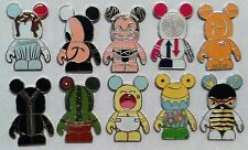 Disney Vinylmation Mystery Collection Urban Series #6 10 Pin Complete Set RARE