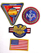 2001/2010 A Space Odyssey USA Mission Uniform Patch Set of 4 (20PA-Set-USA)