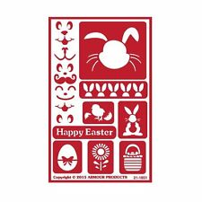 Armour Reusable Over n Over Glass Etching Stencil - ONO Easter