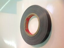 EXTRA STRONG, EXTRA THICK, HEAVY DUTY BLACK CLOTH GAFFA TAPE JURASSTIC 19MM X25M