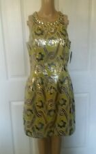 Lilly Pulitzer Woman's  Metalic Vintage Brocade Dress SZ 8. Pretty. Reg. $358.00