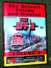 "20106 TRAIN VIDEO DVD ""THE DT&I RAILROAD"" VOL. 2"