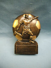 SOCCER trophy  ball  resin male sunburst award  RIC718