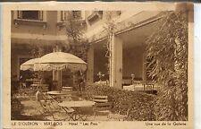 """CP 17 Charente-Maritime - Ile d'Oléron - Vert-Bois - Hôtel """"Les Pins"""" - Galerie"""