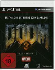 Sony PS3 Playstation 3 Spiel ***** Doom 3 BFG Edition 1 + 2 + 3 ******NEU*NEW*18