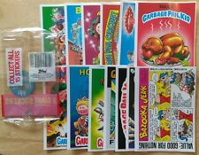 RARE GIANT UK 15 CARD TEST SET +WRAPPER MINT! GARBAGE PAIL KIDS GPK 5X7 MATTE