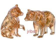 Swarovski SCS BEAR CUBS (2 BEARS) ANNUAL EDITION *NEW* CRYSTAL FIGURINE 5236593