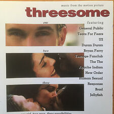 """THREESOME""-FILM SOUNDTRACK-U2-DURAN DURAN-NEW ORDER-FERRY-THE THE-BRAND NEW CD"
