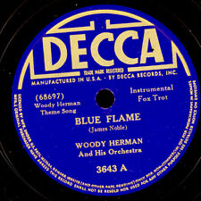 WOODY HERMAN & HIS ORCH. Blue Flame // Fur Trappers' Ball 78rpm Schellack X2597