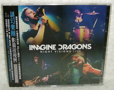 Imagine Dragons Night Visions Live 2014 Taiwan Special CD+DVD w/OBI