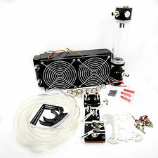 Water Cooling Kit  Utra Thick 45mm 240 Radiator CPU GPU Block Pump Reservoir