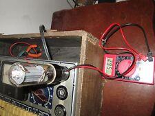 Tube Amp Bias Tester Adapter +Meter 6V6 6L6 5881 EL34 6550 KT88 plate current