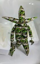 "NOSFERATU FUTURA GREEN CAMO 11"" vinyl figure FUTURELABORATORIES UNKLE IN BOX"