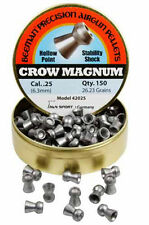 Beeman Crow Magnum .25 Cal, 26.23 Grains, Hollowpoint, 150ct # 42025 Brand New