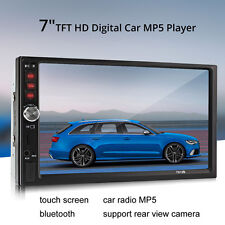 "7 ""Zoll 2DIN Auto MP5 MP3-Player Bluetooth Touchscreen Stereo Radio HD DC 12V **"