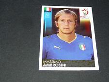 N°294 MASSIMO AMBROSINI ITALIA ITALIE GLI AZZURRI PANINI FOOTBALL UEFA EURO 2008