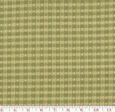 P Kaufmann Green Gingham Woven Upholstery Fabric Picnic Check Artichoke BTY