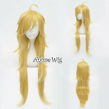 Panty and Stocking Anarchy Yellow Blonde Long 90CM Anime Cosplay Wig + Wig Cap