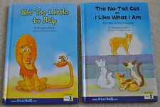 Starfall Set of 2, Not Too Little to Help and The No-Tail Cat, Reading Step 1