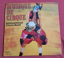 INTERNATIONAL CIRCUS BAND LP MUSIQUE DE CIRQUE