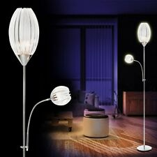 Deckenfluter Design Fluter Leuchte Stehleuchte Chrom Standlampe Bodenleuchte NEU