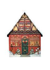Authentic Byers Choice Advent Calendar Accessory Christmas House NIB Beautiful!