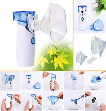 NEW Mini handle travel pocket Mesh Nebulizer for adult child Useful Portable