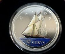 2016 Canada 10 Cent Big Coin Series 5 Oz Bluenose