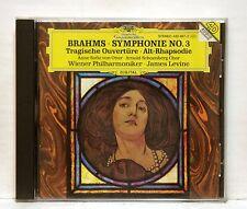 ANNE-SOPHIE VON OTTER - BRAHMS symphony no.3, tragische overture DGG CD NM