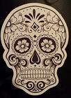 Mexican candy sugar skull day of the dead laptop sticker halloween tablet 201