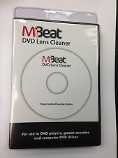 MULTI-REGION DVD PLAYER / RECORDER DRY LASER LENS CLEANER - Voice Guided - NEW