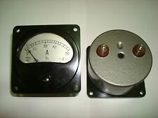 0-50A AC Russian Э8021 ammeter current meter amp analog panel meter.
