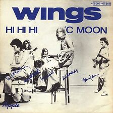 "7"" Paul McCartney (Wings) (Beatles) – Hi Hi Hi // Belgium 1972"