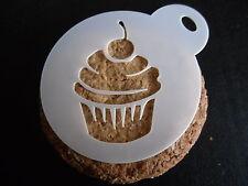 Taglio laser piccoli design cupcake torta, biscotti, artigianato e Face Painting Stencil
