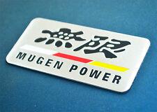 Car Emblem MUGEN LOGO Auto Badge Fender Tailgate Side sticker for Honda