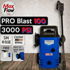 NEW MaxFlow Pro Blast 100 High Pressure Washer Cleaner Electric Water Gurney