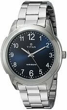 Titan 1585SM05 Analog Neo Blue Dial Watch For Men